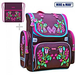 Ранец Mike 1074-ММ-146 + мешок для обуви