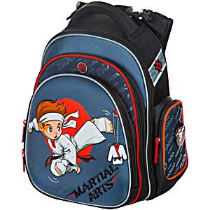 Школьный рюкзак самбо дзюдо карате Hummingbird TK45 официальный с мешком для обуви
